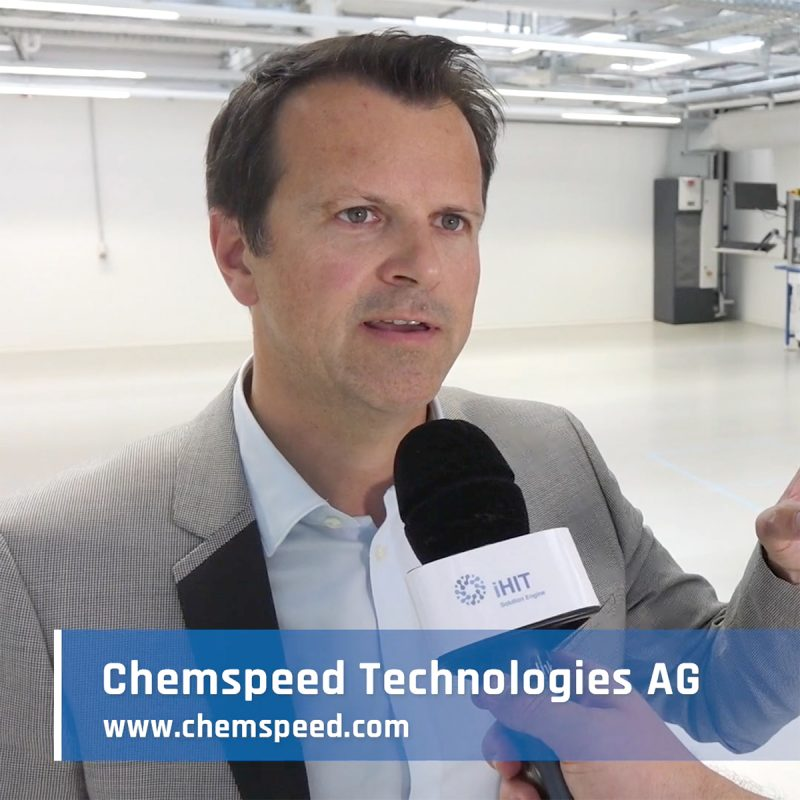 iHIT Solution Engine - Stories - Chemspeed